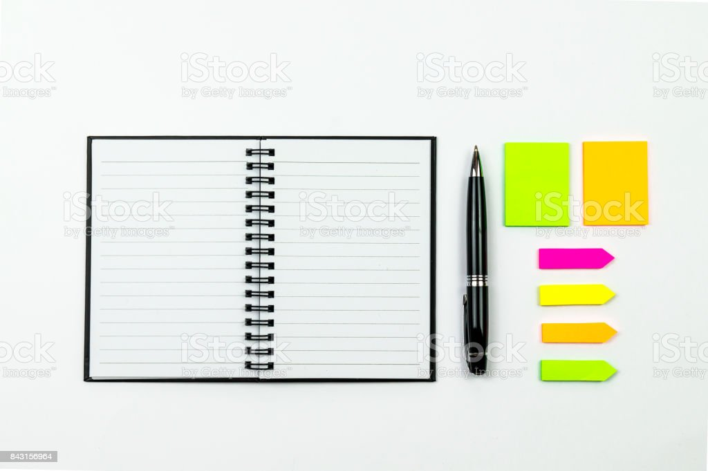 Organized Workspace stock photo