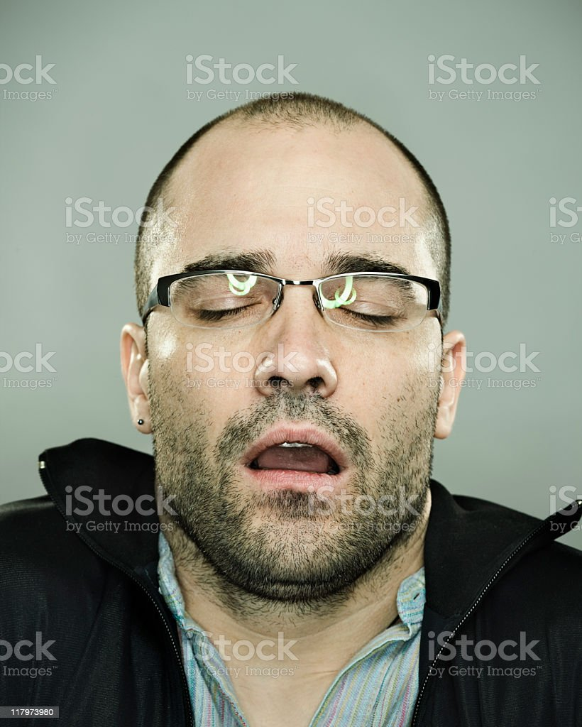 Orgasm. royalty-free stock photo