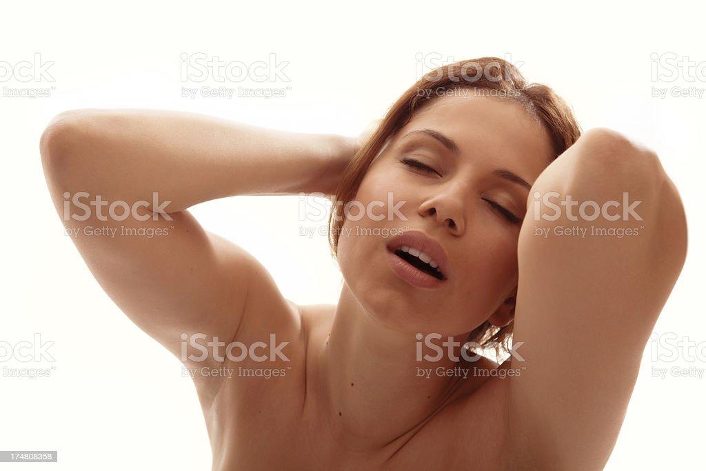 Gorgeous woman orgasm