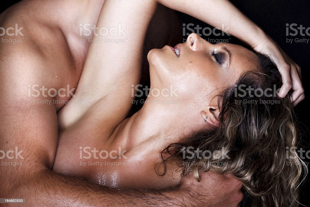 Orgasm royalty-free stock photo