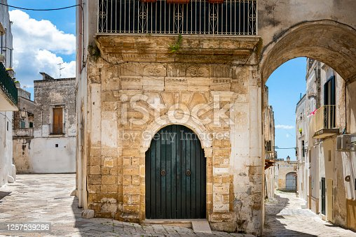 Oria, together with Trani, Bari and Otranto, was one of the Apulian places where the Jewish group was more numerous and lived longer, from the Roman era until 1541, when all the Jews were expelled from southern Italy .