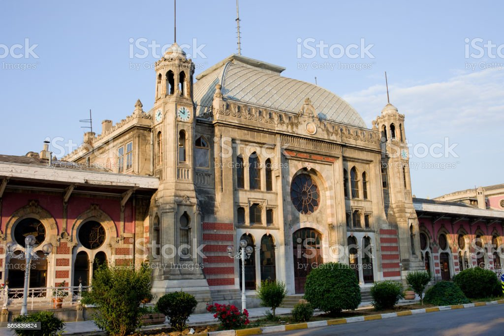 Orient Express Station in Istanbul stock photo