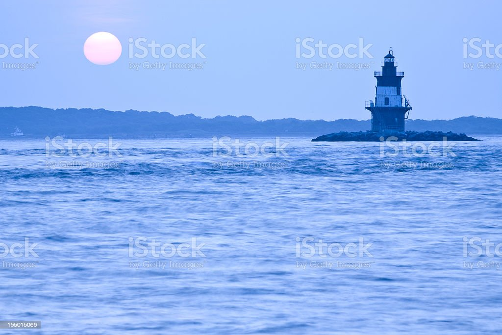 Orient Point (NY) Lighthouse stock photo