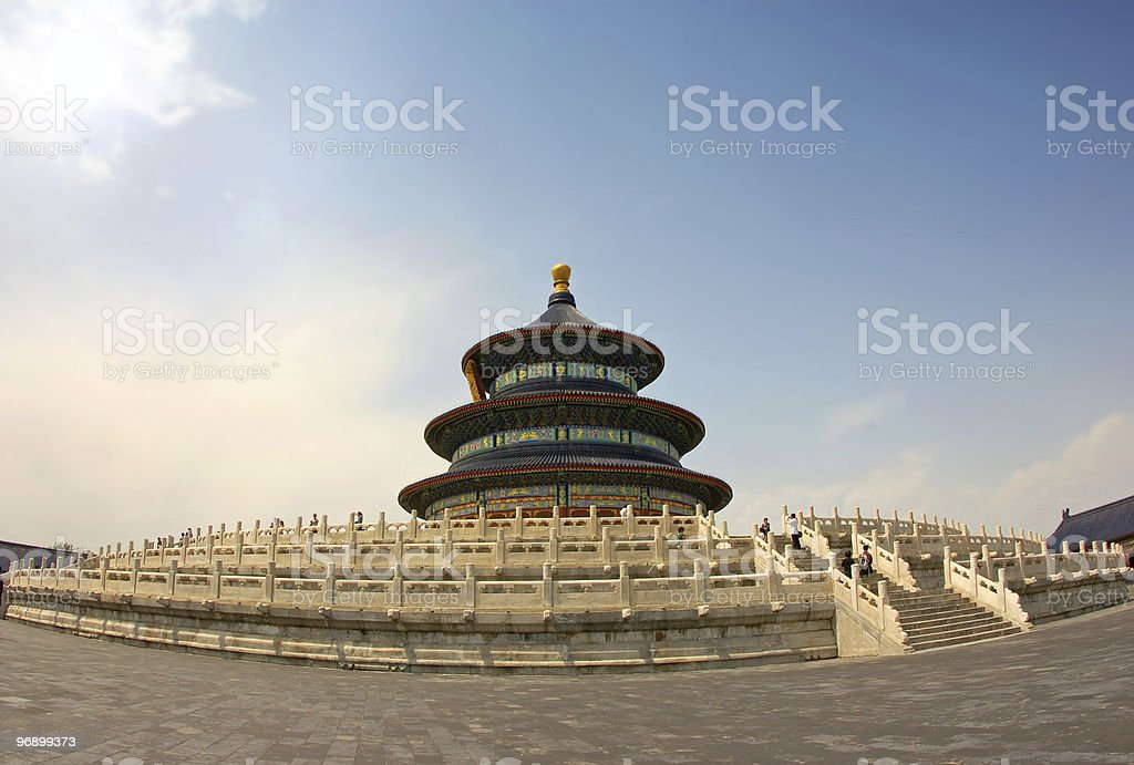 Oriental architecture royalty-free stock photo