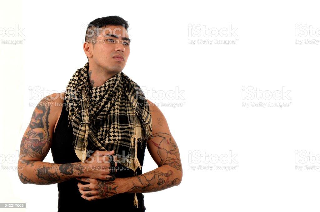 Oriental Boy stock photo