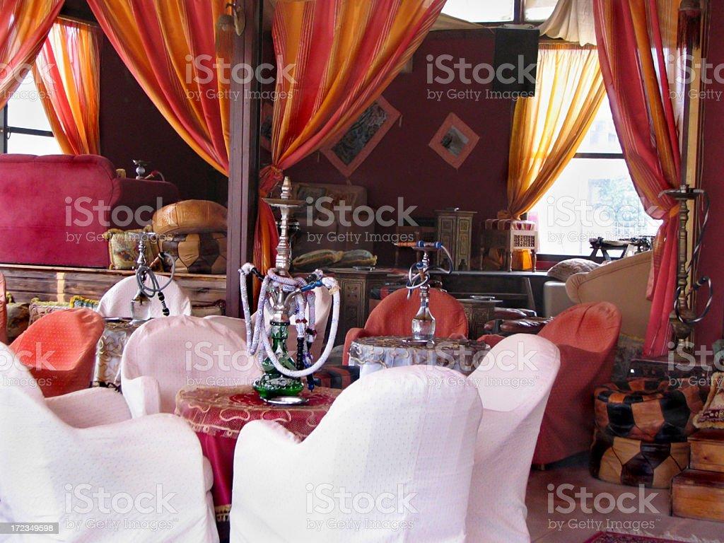 Oriental cafe royalty-free stock photo