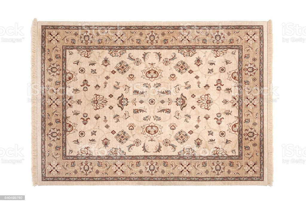 Oriental Carpet stock photo