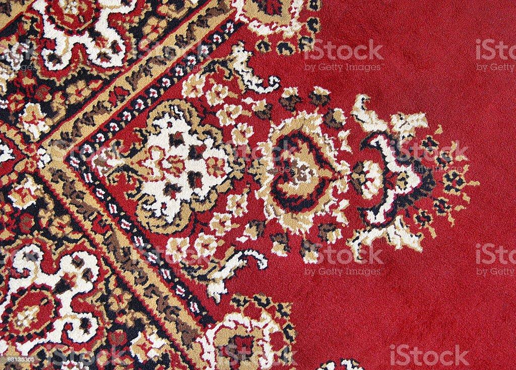 oriental carpet royalty-free stock photo