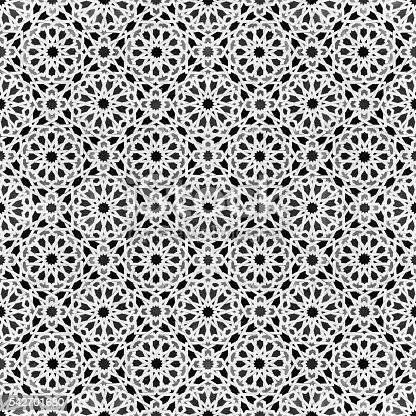 istock oriental design - morocco tile patten 542701680