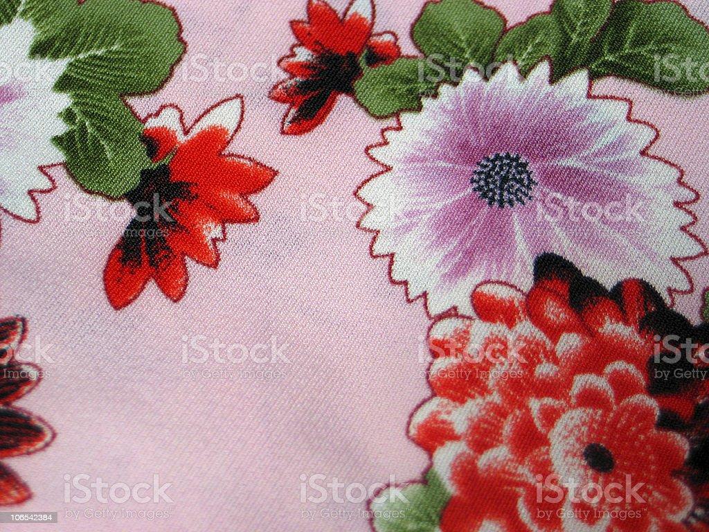 Oriental Fabric stock photo