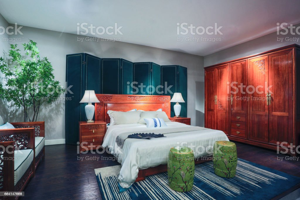 Oriental furniture environment foto stock royalty-free