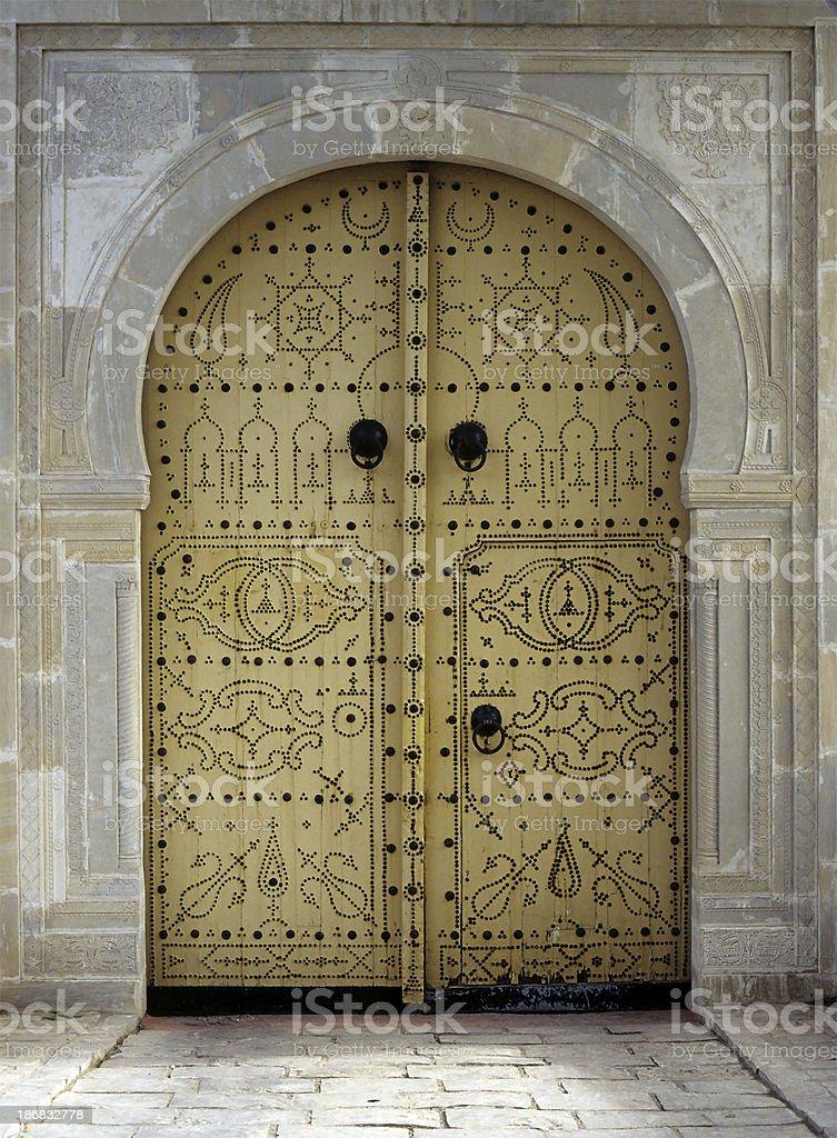 Oriental gate royalty-free stock photo