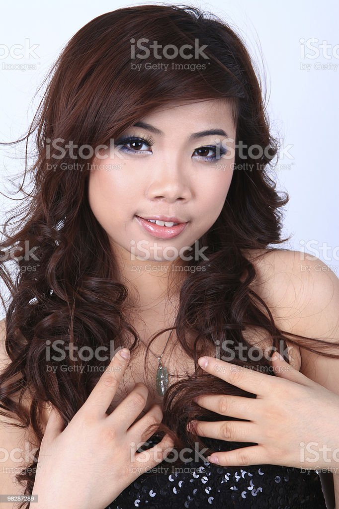 Oriental Girls royalty-free stock photo