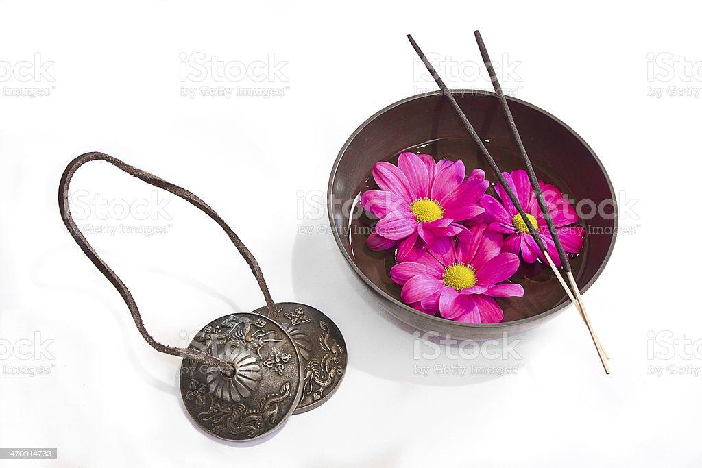 Oriental health treatment stock photo