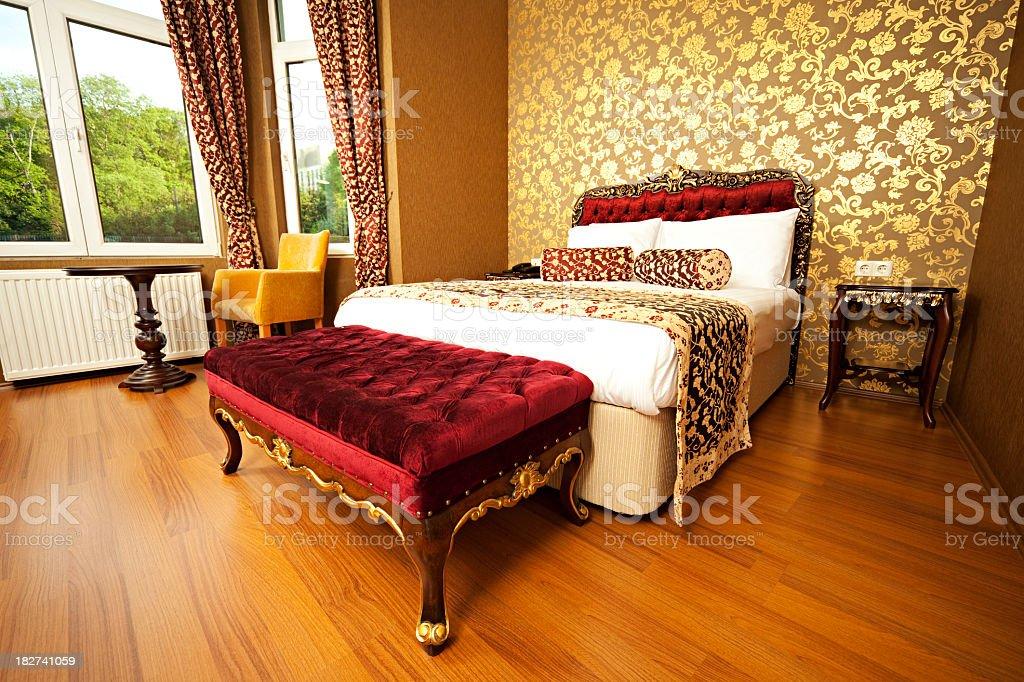 Oriental Hotel Room royalty-free stock photo