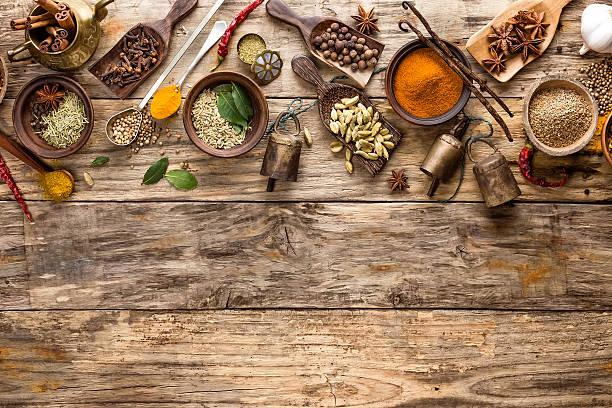 oriental indian spices​​​ foto