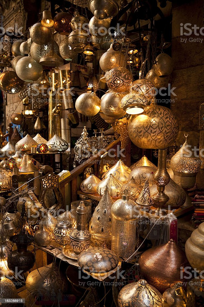 Oriental  lamps royalty-free stock photo