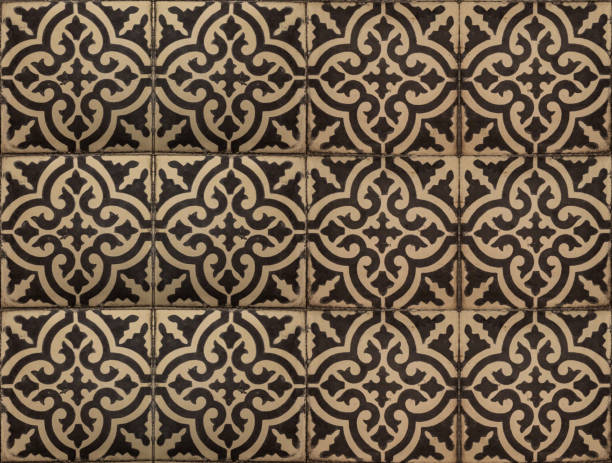 Oriental Moroccan tile seamless pattern stock photo