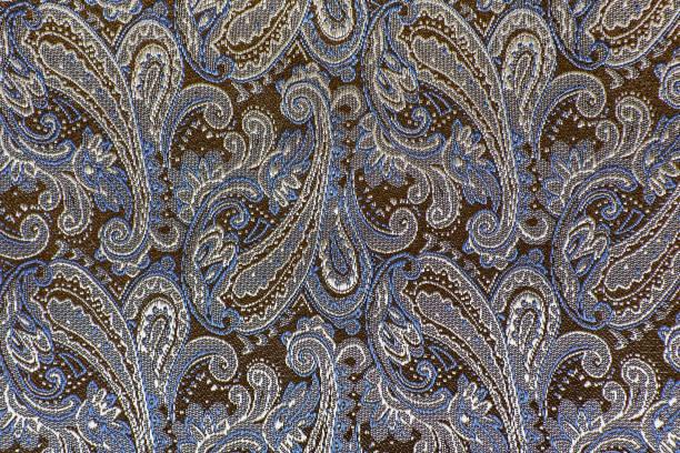 oriental oder paisley, türkische gurken, allahs reißen, indischen oder türkisch beanbuta, persische zypresse ornament - blumendrucktapete stock-fotos und bilder