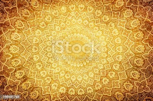 istock Oriental ornaments on circular pattern 156491745