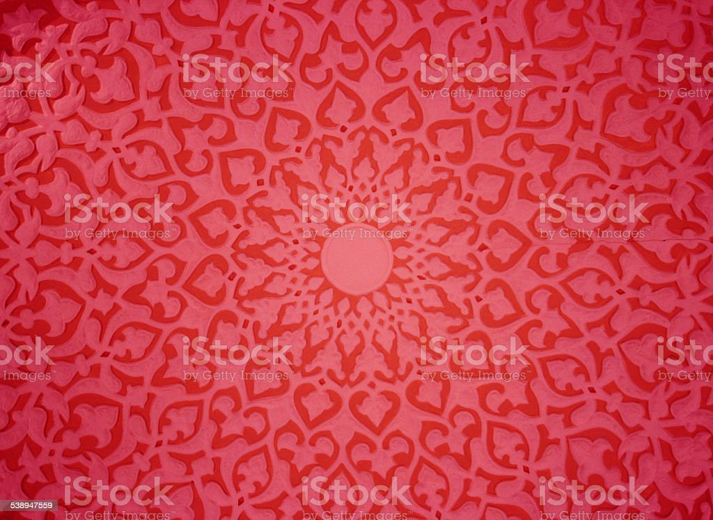 Oriental ornaments stock photo