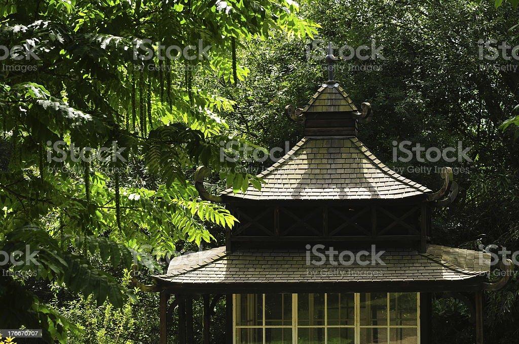 Oriental Pagoda, U.K. royalty-free stock photo
