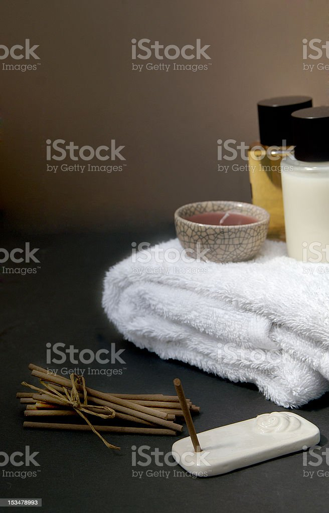 Oriental Spa Resort royalty-free stock photo