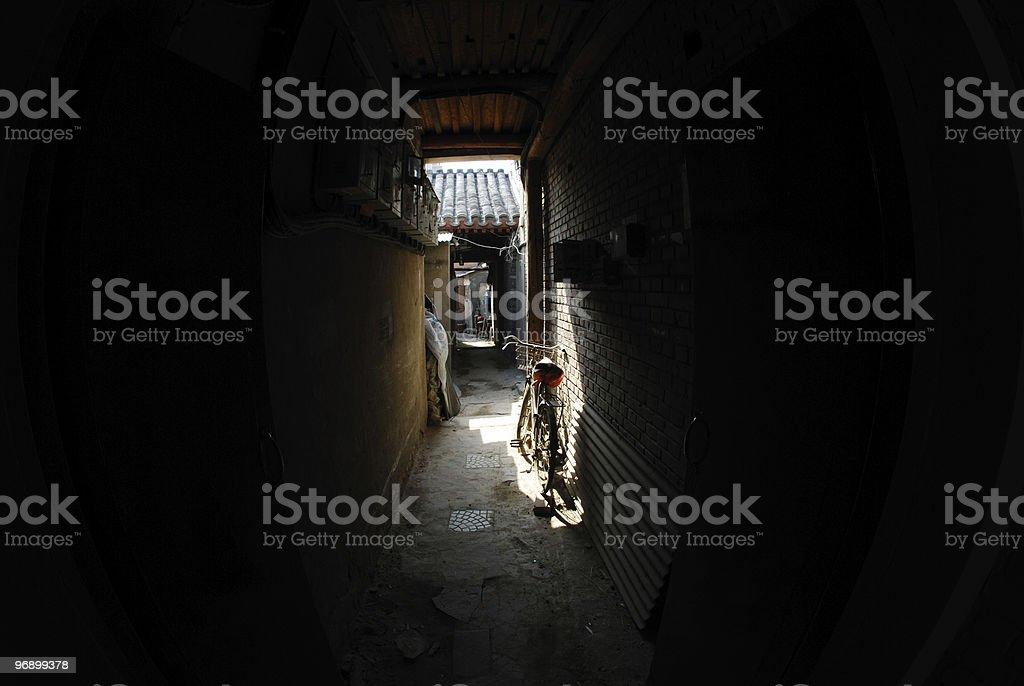 Oriental street royalty-free stock photo