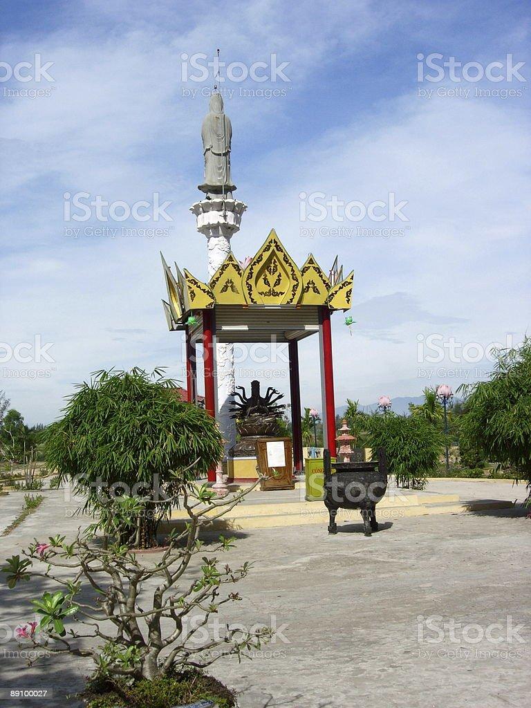 Oriental temple royalty-free stock photo