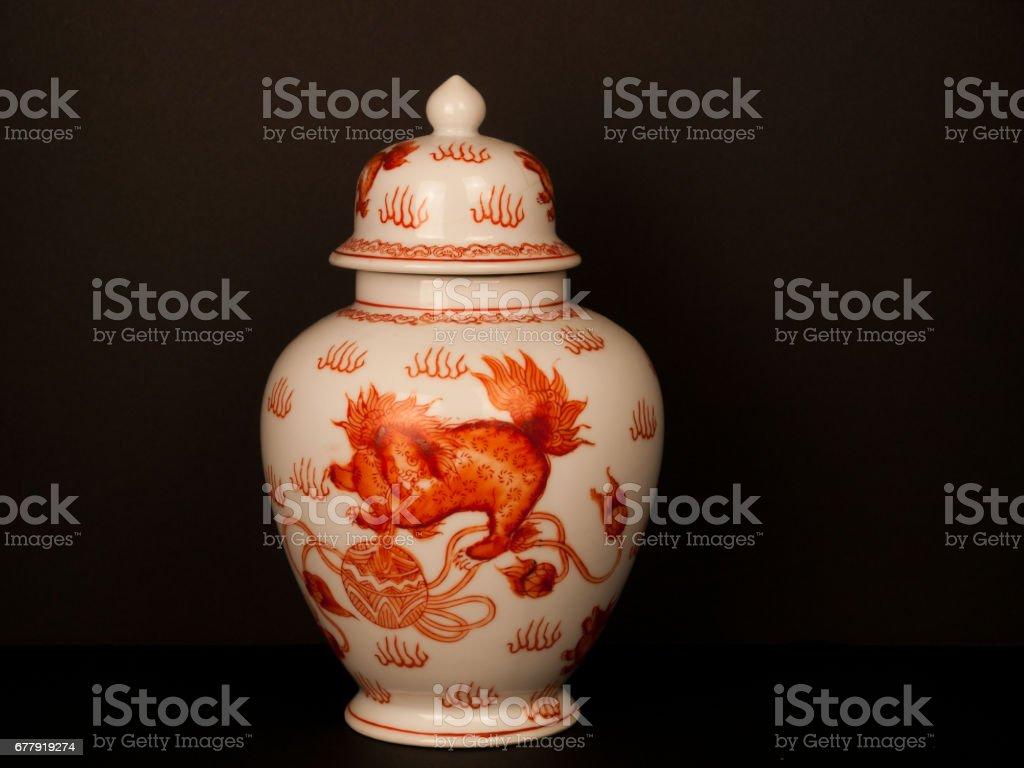 Oriental Vase royalty-free stock photo