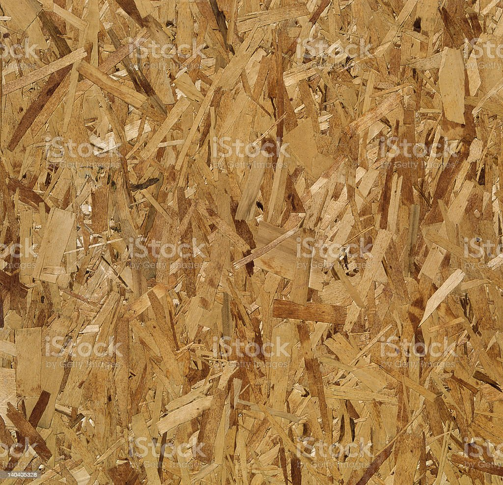 OSB  Oriented Strand Board  (Hi-Res) royalty-free stock photo