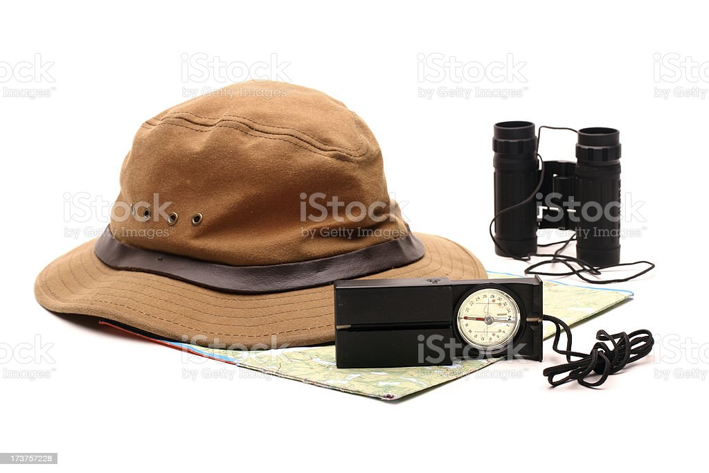 Orienteering royalty-free stock photo