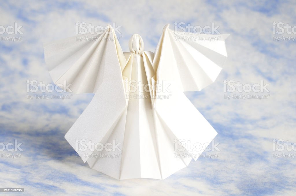 Origami Angel Stock Photo More Pictures Of Beauty Istock