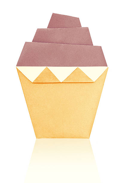 Origami Art Cupcake Stock Photo 637816300 Istock
