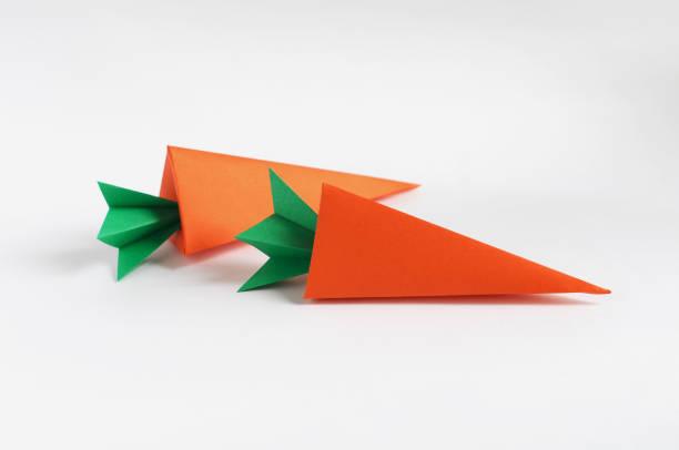 Carotte de l'origami - Photo