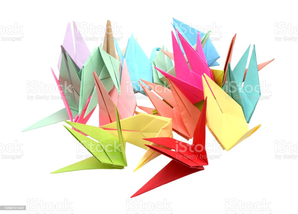 Amazon.com: 1000 Origami Crane Navy Tone 3x3 inch Origami Crane ...   737x1024