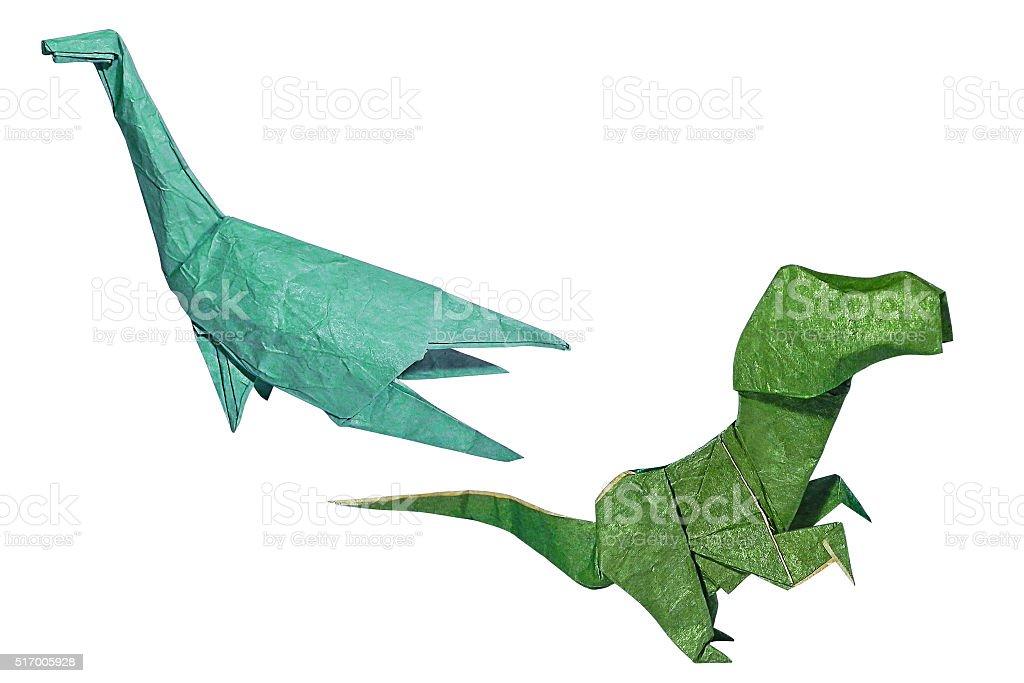 Fotografa de Origami Dinosaurios y ms banco de imgenes de Animal
