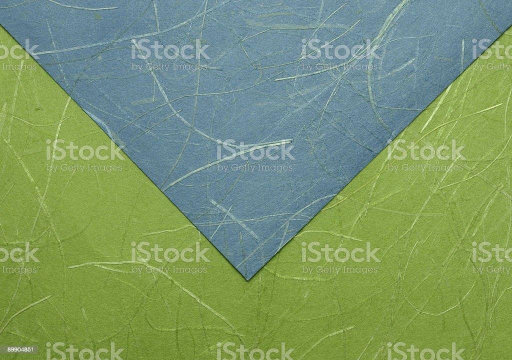 Origami envelope. royalty-free stock photo