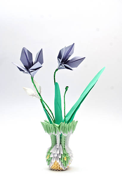 Royalty free origami flower vase pictures images and stock photos origami flower stock photo mightylinksfo