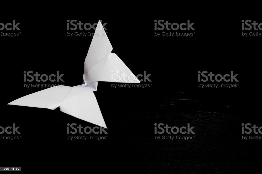 Photo Libre De Droit De Origami Pliage De Papier Papillon De