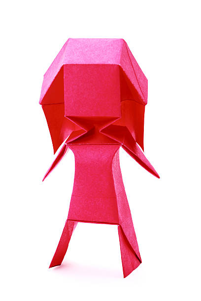 Royalty Free Origami Person Pictures Images And Stock Photos Istock