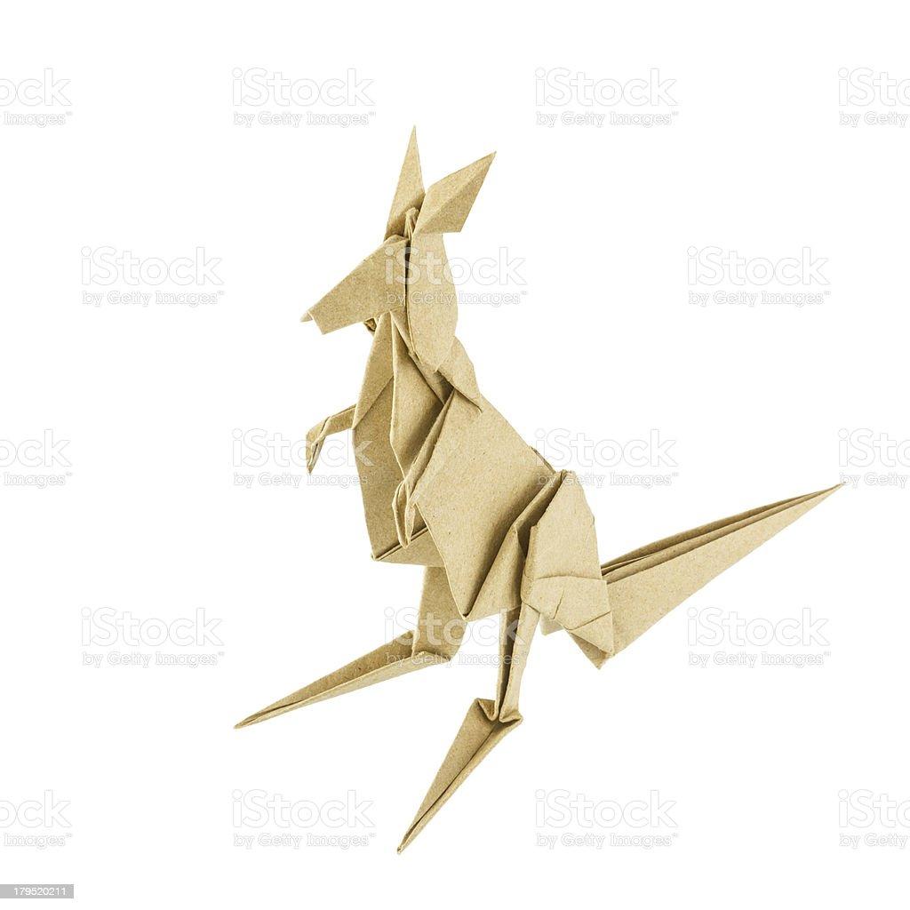 Origami Kangaroo Tutorial - YouTube | 1024x1024