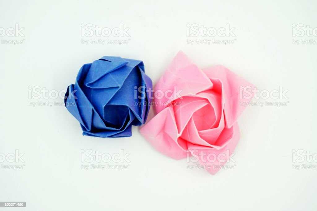 Origami Kawasaki Rose Folding Instructions | 682x1024