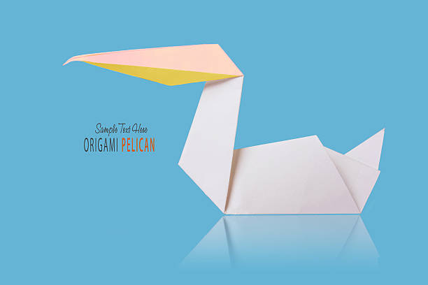 Origami Paper Pelican Stock Photo More Pictures Of Animal Istock