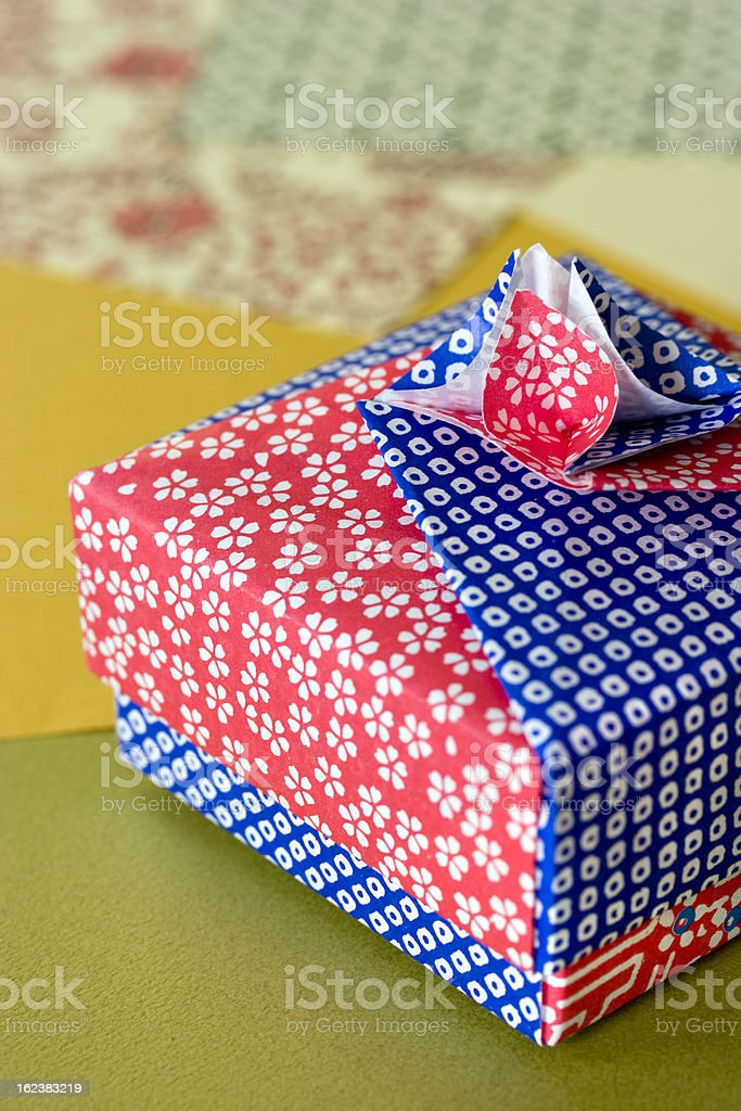 Origami papercraft royalty-free stock photo