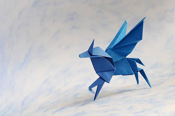Origami Pegasus Stock Photo More Pictures Of Animal Istock