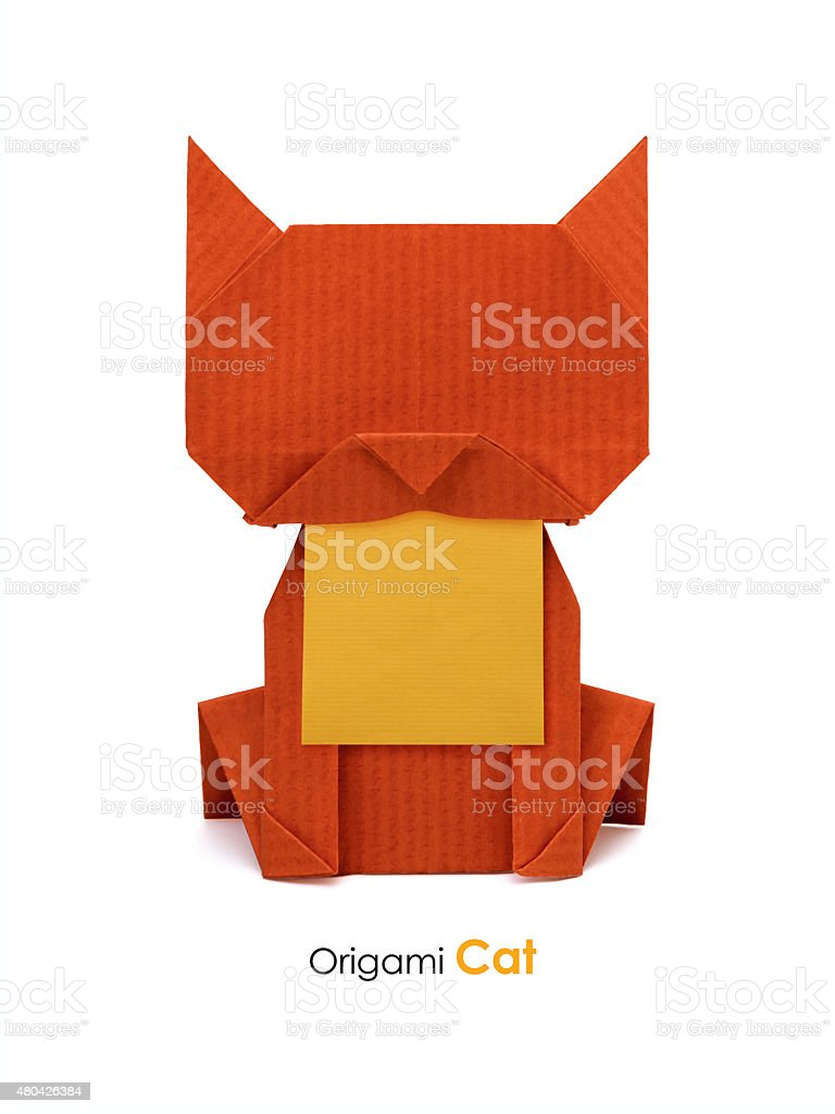Make an Origami Cat-Box for Halloween (With images) | Origami cat ... | 1024x768