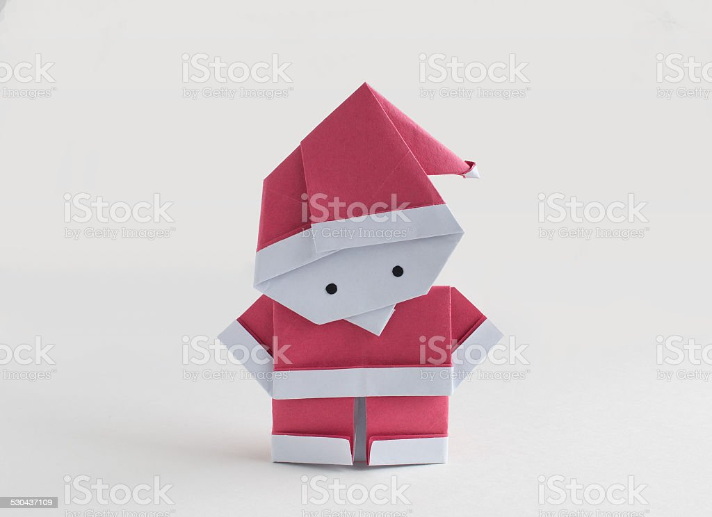 Origami Christmas and Santa Claus - Page 1 of 21 | Gilad's Origami ... | 744x1024