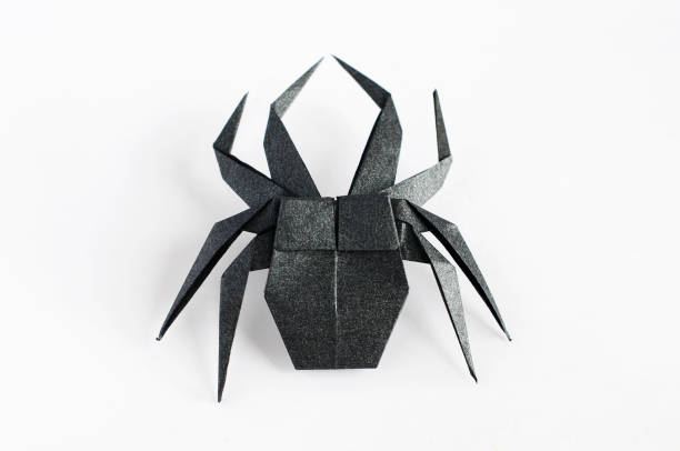 Royalty Free Origami Spider Pictures Images And Stock Photos Istock