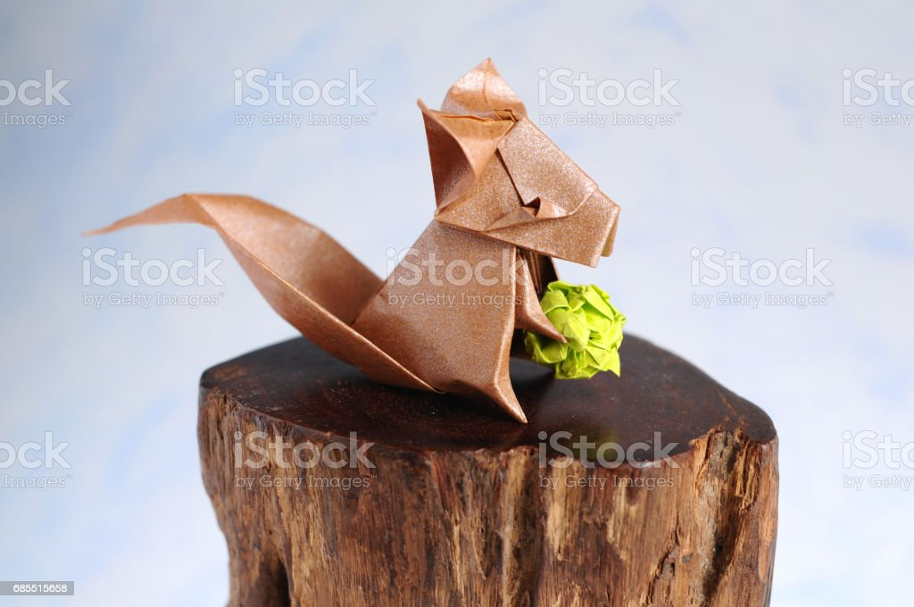 Origami Squirrel PNG Image - PurePNG | Free transparent CC0 PNG Image  Library | 680x1024